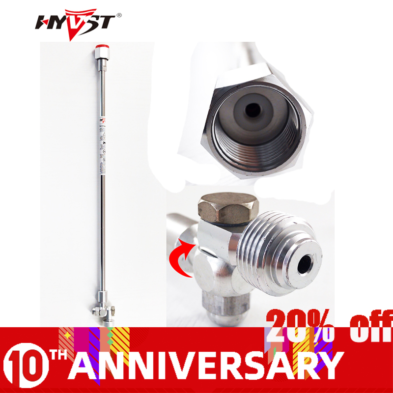 Professional New Swivel 50cm Airless Extension Pole Extension Pole 20.76inch Pole Head Provides Tip Control For Angles Up To 180