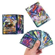 60 шт. в наборе, игра Pokemon VMAX, Боевая карта, торговая карточка EX MEGA GX, тег, серия команд, нет повторений, коллекционные блестящие карты, детские и...