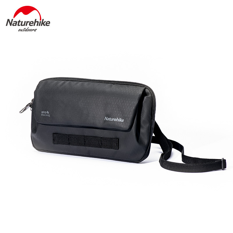 Naturehike String Bait Multi-functional Anti-Theft Outdoor Sports Fitness Crossbody Bag Travel Document Package Wallet Bag