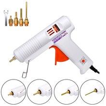 150W 100W EU Plug Hot MeltกาวปืนProfessionalอุณหภูมิปรับซ่อมเครื่องมือไฟฟ้าความร้อนปืนDIY Thermoเครื่องมือ