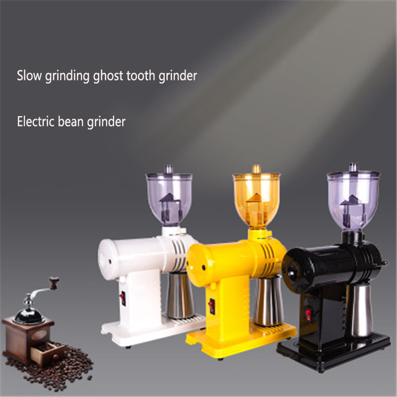 Small Steel Cannon Coffee Grinds The Bean Ghost Tooth Commercial Electric Grinds The Italian Coffee Bean Grinder