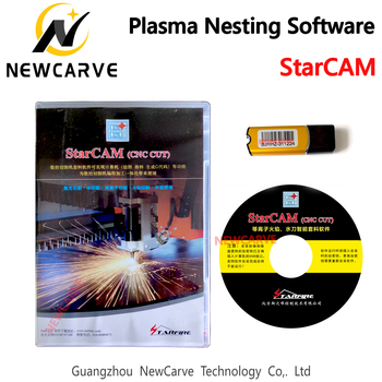 StarCAM CNC Plasma Cutting Machine Nesting Software ENGLISH Language No Size Limit Newcarve
