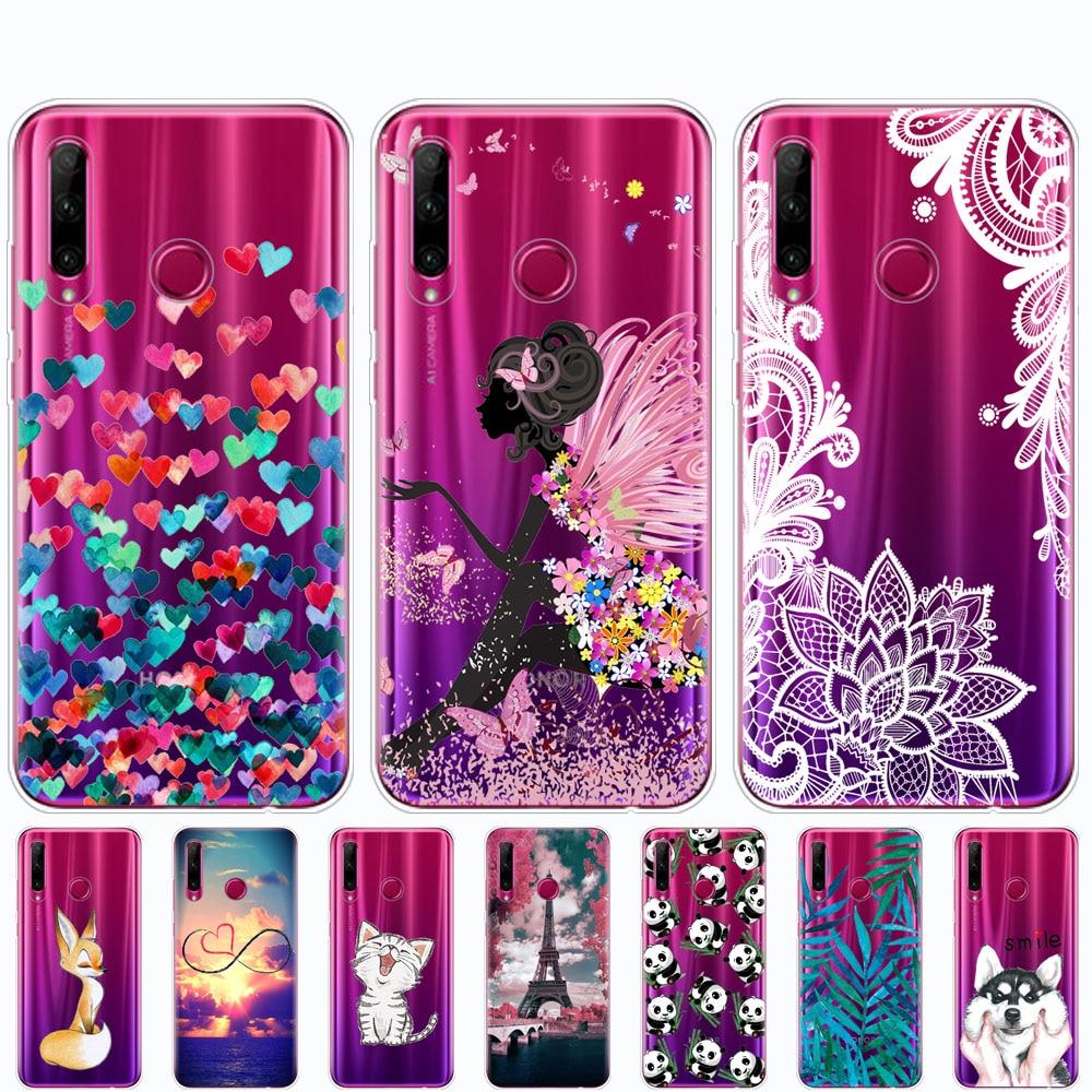 Honor 10i Case Honor 10i HRY-LX1T Case Silicone Tpu Back Cover Phone Case For Huawei Honor 10i Honor10i 10 I 6.21 Inch