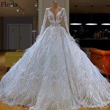 Белое великолепное платье знаменитостей длинное официальное вечернее платье с перьями Великолепное вечернее платье Турецкий кутюр Дубай Выпускные платья