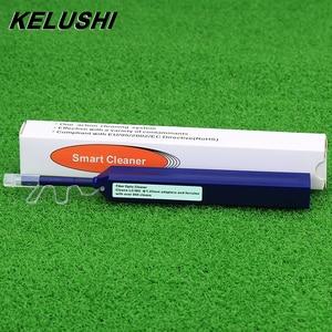Image 2 - KELUSHI אחד לחץ סיבים אופטי מחבר מנקה סיבים אופטי כלים עבור 2.5mm SC ST FC ו 1.25mm LC מחבר