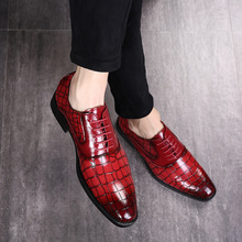 Leather Shoes Mens Business Casual Large Size 38-48 Pointed Dress CHUQING Brand Selling Hot Sale 2019 New Trend
