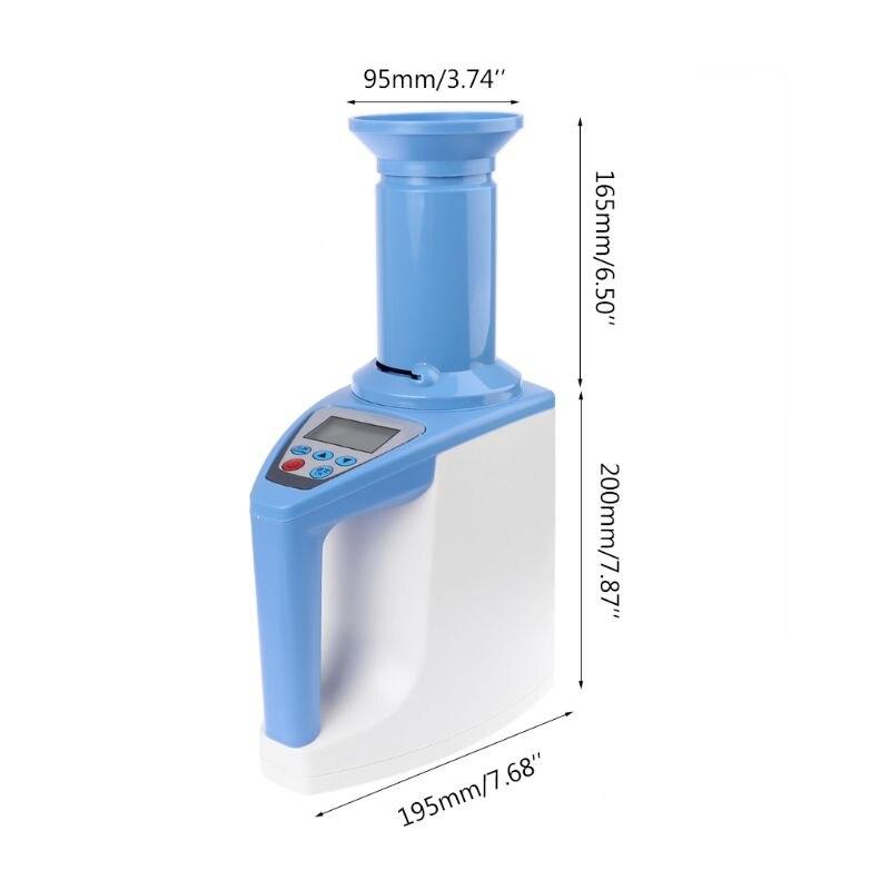 Automatico LCD Digital Grano Mais Riso Grano di Umidità di Umidità Calibro del Tester del Tester Di Alta Precisione di Umidità Rilevatore di - 4