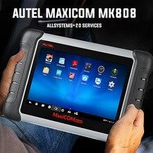 Mais vendidos autel maxicom mk808 obd2 scanner automotivo carro ferramenta de verificação diagnóstico obd 2 leitor código obdii chave codificação mp808 ds808