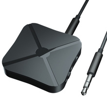 2 in 1 kablosuz Bluetooth 4.2 alıcı verici ev TV MP3 PC kablosuz adaptör ses 3.5MM AUX Stereo hoparlör TV araba PC