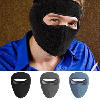 Polar Fleece Full Face Cover Men Women Winter Outdoor Bike Bicycle Cycling Windproof Thermal Mask Bicycle Accessories