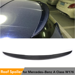 Carbon Fiber/Frp Dakspoiler Wing Voor Mercedes-Benz A-klasse W176 A180 A200 A250 A45 Amg 2013 - 2018 Kofferbak Window Spoiler(China)