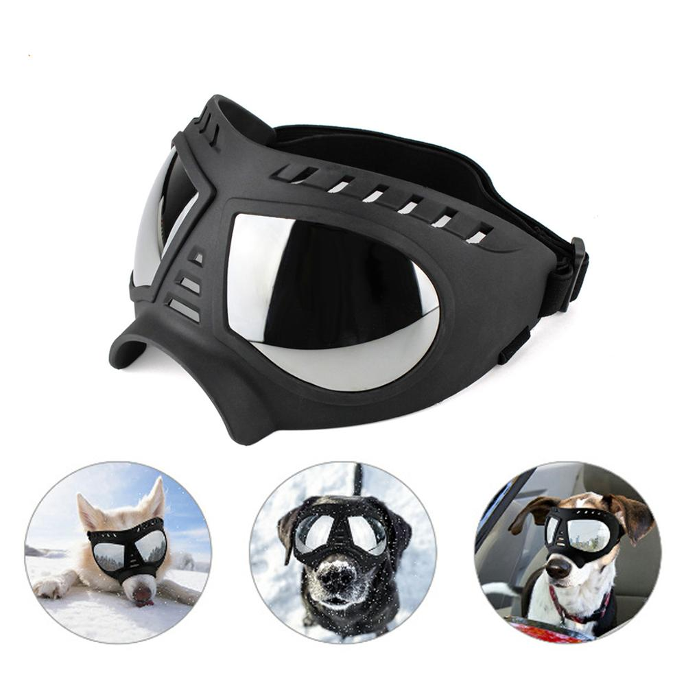 Cool Dog Sunglasses UV Protection Windproof Goggles Pet Eye Wear Medium Large Dog Swimming Skating Glasses Accessaries