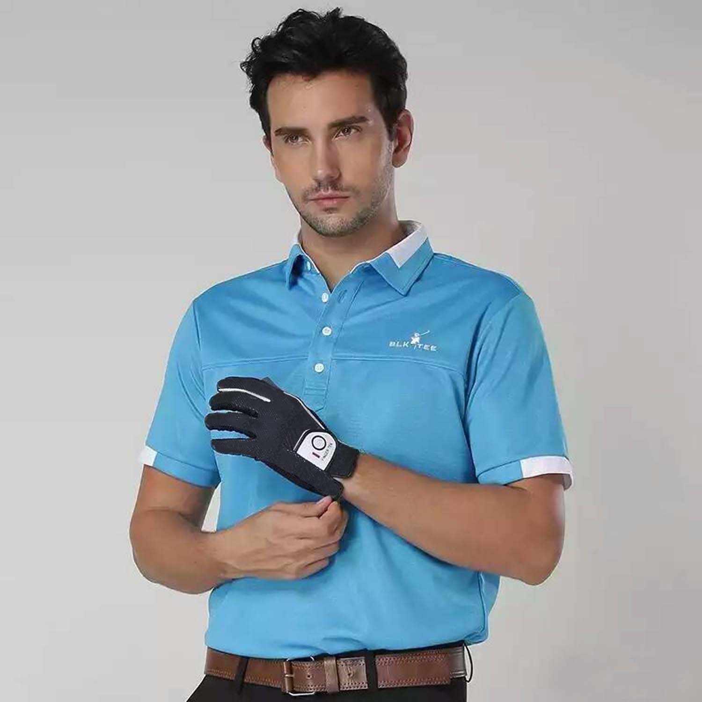 1 adet nefes yumuşak yağmur kavrama Golf eldivenleri erkekler için sol sağ el yağmur sıcak ıslak Weathersof boyutu S M ML L XL