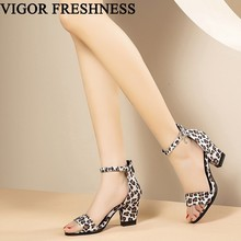 VIGOR FRESHNESS Sandals Women Shoes Heels Summer Sh