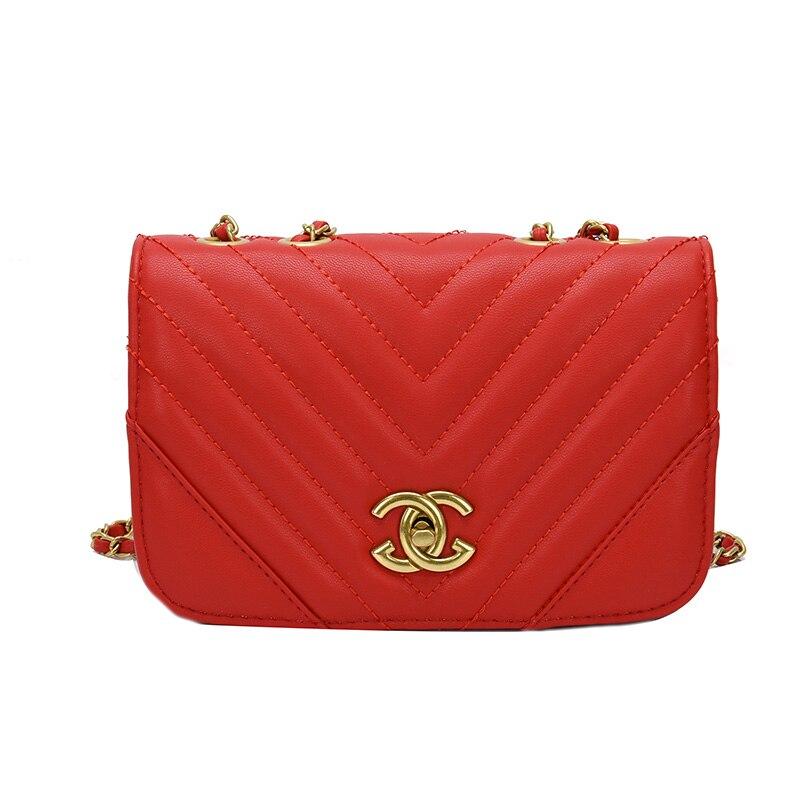 Luxury Brand Louis Women Shoulder Bag Fashion Crossbody Chenal Handbag 2020 New Chain Diamond GG CC  Purses And Handbags