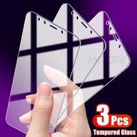 Protector de pantalla de vidrio templado para móvil, película de vidrio para Xiaomi Redmi Note 4, 4X, 5, 5A Pro, 4X, 4A, 5A, 5 Plus, Go S2, K20, K30 Pro, 3 uds.