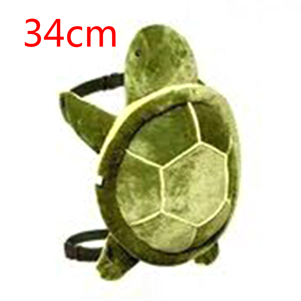 1pc Children Snowboarding Knee Pads Winter Cute Outdoor Sports Plush Skiing Adult Tortoise Cushion Protective Gear Multipurpose