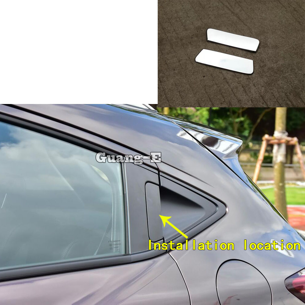High Quality Car Cover Stick Frame Lamp Trim ABS Chrome Rear Back Tail <font><b>Door</b></font> <font><b>Handle</b></font> Panel For <font><b>Honda</b></font> <font><b>HRV</b></font> HR-V Vezel 2019 2020 image