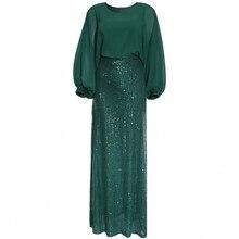 2020 Spring Autumn Sexy Club Luxury Party Women Long Pencil Dresses Tunic High Waist Female Sequin Glitter Evening Maxi Dress