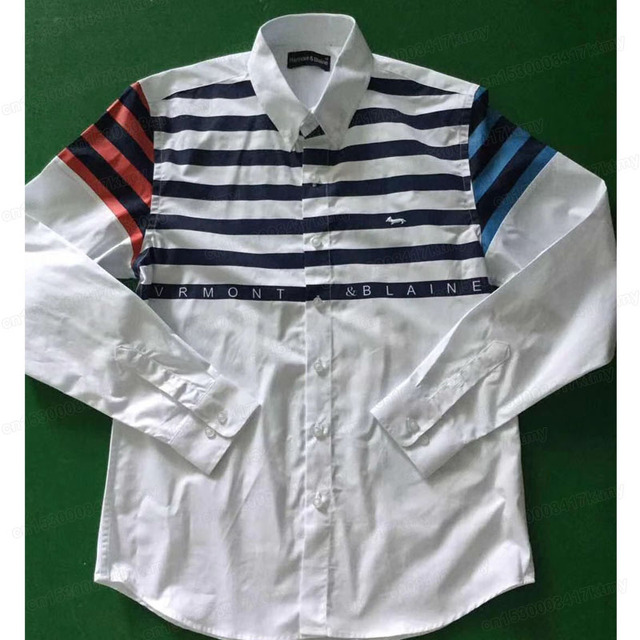 2020 New  Men cotton casual striped long sleeve Harmont Male blouse harmont blaine shirts camisa masculina homme male tops