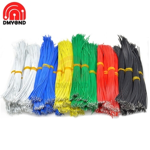 100PCS 8CM/10CM/15CM/20CM UL1007 Wire 24AWG 1.4mm PVC Electronic Cable UL Certification Multifunction Tools Line 300V