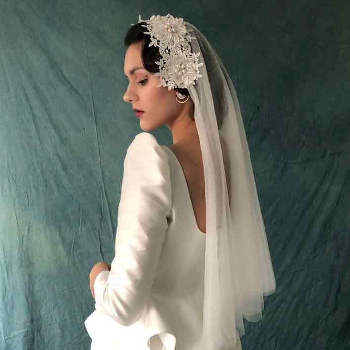 Vintage 3-Layer Veil with Headpiece