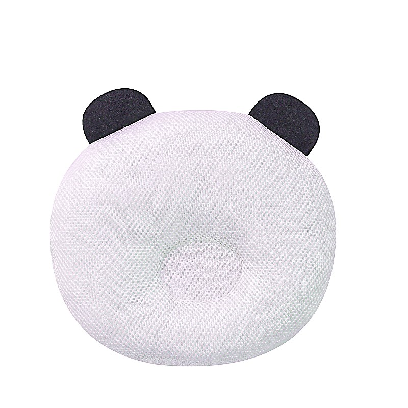 Cute Newborn Infant Girls Boys Anti Roll Cotton Pillow To Prevent Flat Head For Babies 5