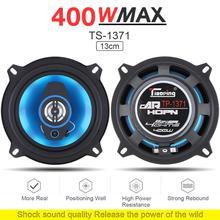 2 шт 5 дюймов 400 Вт 2-полосные автомобильные коаксиальные Авто аудио стерео полночастотные Hifi динамики для автомобилей авто