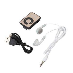 Портативный мини USB MP3-плеер с клипсой, музыкальный медиаплеер с поддержкой Micro SD TF-карты, модный Hi-Fi MP3, для занятий спортом на открытом воздух...