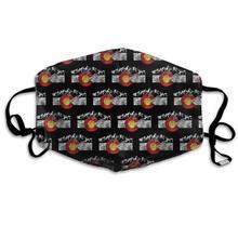Calentador nórdico de invierno, cómodo de dos capas Retro Bandera de Colorado Moutain Vintage Colorado día antipolvo máscara cubierta boca para