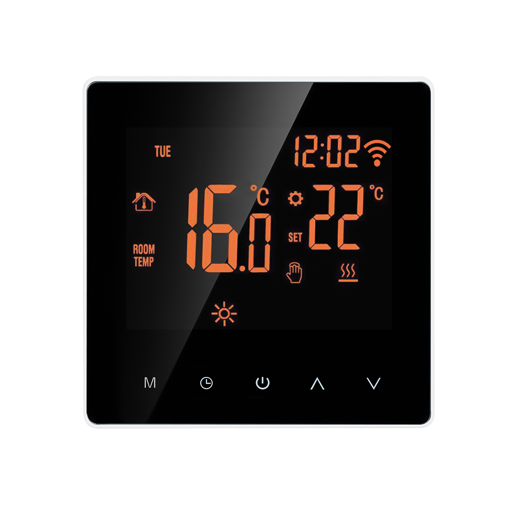 Hot Wi-Fi Smart Thermostat Digital Temperature Controller APP Control Touch Screen Programmable Electric Floor Heating Thermosta