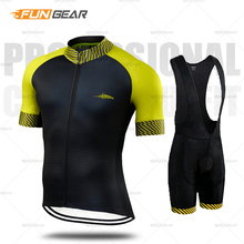 цена на Cycling Jersey Mens Cycle Clothes Short Sleeve Set Bicycle Clothing Maillot Ropa Ciclismo Uniforme Bike Clothing MTB Quick-dry