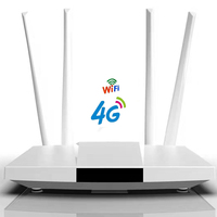 YIZLOAO 4G CPE Unlimit Datum Router 4G 3G Wifi Router Breitband 4G Moblie Hotspot Wan/ lan Port Card Slot 4 Antenne 32 benutzer-in Modem-Router-Kombi aus Computer und Büro bei