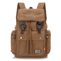 Manufacturers Direct Selling Retro Casual Bag Foreign Trade Canvas Bag Schoolbag Laptop Backpack Wholesale Cross Border Hot Sale