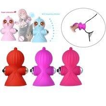 1 pcs Nipple Stimulation Bullet Vibrator Female Breast Massage Nipple Sucker Pus