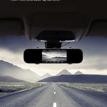 70mai Rearview Mirror Dash Cam Wifi 1600P HD 70 Mai Dashcam Rear View Car DVR Camera Video Recorder G-sensor 24H Parking Monitor