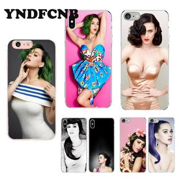 YNDFCNB Pop Singer Katy Perry Accessories Phone Case cute cover for iPhone 8 7 6 6S Plus X XS MAX 5 5S SE XR 11 11pro promax