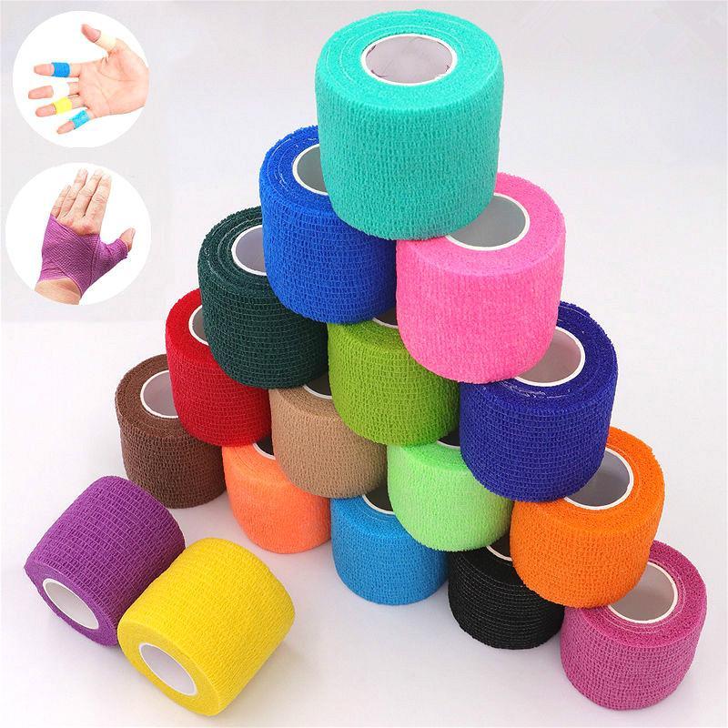 Elastische Bandage Erste Hilfe Kit Gaze Rolle Wunde Dressing Pflege Notfall Pflege Verband Wrap Band Erste Hilfe Werkzeug Für Knie unterstützung