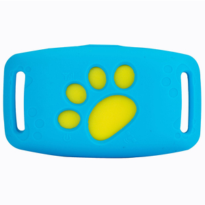 Pet GPS Tracker Collar Dogs Cats GPS Tracking Device Waterproof Dog GPS Positioner Locator(China)