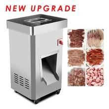 Коммерческая машина для нарезки мяса вертикальный тип Мясорубка электрическая машина для резки мяса 2200 Вт Большая Мощность Мясорубка GS-DQ