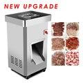 Коммерческая машина для нарезки мяса вертикальная машина для резки мяса электрическая машина для резки мяса 2200 Вт Большая Мощность Мясоруб...