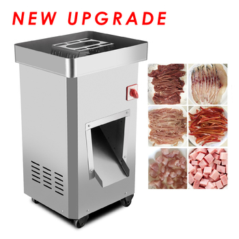Commercial Meat Slicing Machine Vertical-type Meat Slicer Electric Meat Cutting Machine 2200W Large Power Meat Mincer GS-DQ meat cutting machine mini meat slicing machine small meat slicer
