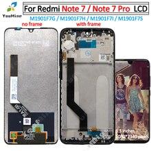をxiaomi redmi注 7 液晶ディスプレイのタッチスクリーンデジタイザアセンブリの交換Note7 redmi注 7 プロ液晶m1901F7G