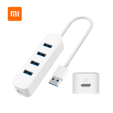 Usb3.0-Hub Extender Laptop Stand-By Original Xiaomi Interface with Power-Supply Extension-Connector-Adapter