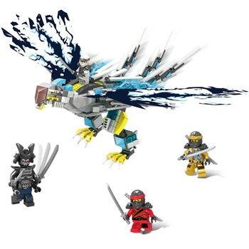 2020 New Ninja Lightning Hawk Building Blocks Classic Model kit Compatible with ninjagoes Figures Bricks Toys for Children gift цена 2017