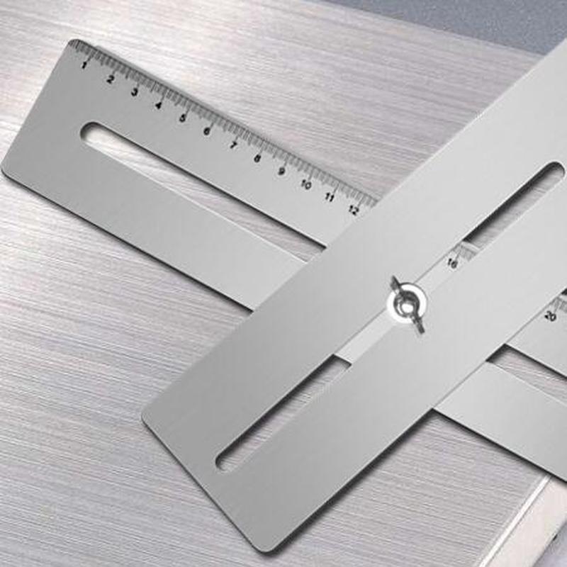 Купить с кэшбэком Adjustable masonry Drill Bit Set Ceramic Tile Glass Hole drill Guide Openings Locator  cutter Construction tools