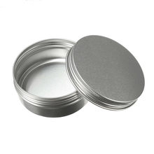 Kosong Aluminium Cream Jar Tin Kosmetik Lip Balm Wadah Kuku Derocation Kerajinan Botol Ulir Sekrup 15 Ml/50ml/100 Ml/150 Ml(China)