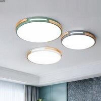 Macarons Nordic sótão sala de estar quarto lâmpada moderna conduziu a lâmpada do teto iluminação interior casa levou luz de teto