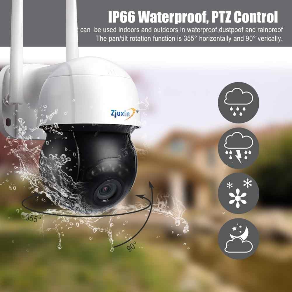 3MP Ptz Wifi Ip Camera 4X Digitale Zoom Auto Tracking Onvif Beveiliging Cctv Cam Audio Ai Human Detection Outdoor Draadloze mini Cam