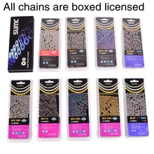 MTB Road Bike Chain 116L X8 X9 X9SL X10 X10SL X11SL Bicycle Chain For Shimano SRAM 8 9 10 11 speed Chain Bike Parts genuine kmc x8 x9 x10 x11 mtb bike chain 8 9 10 11 speed bicycle chain 116 links steel road bike chain with missing link